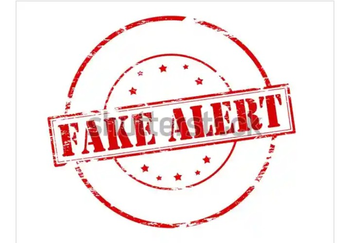 How to do fake alert in Nigeria